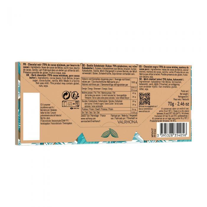 tulakalum barretta 75% - 70 g di valrhona