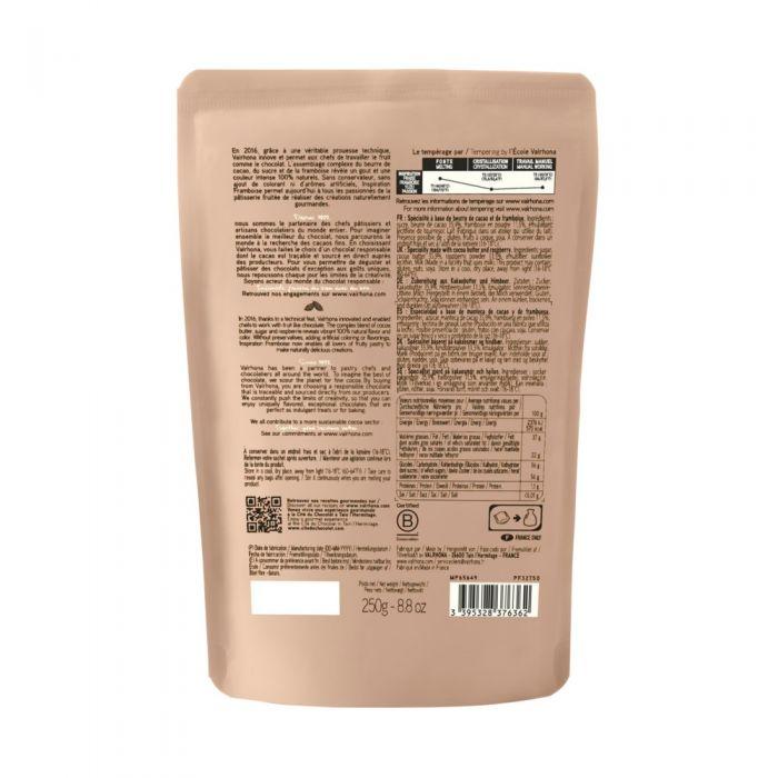 sacchetto di fave 250g inspiration lampone di valrhona