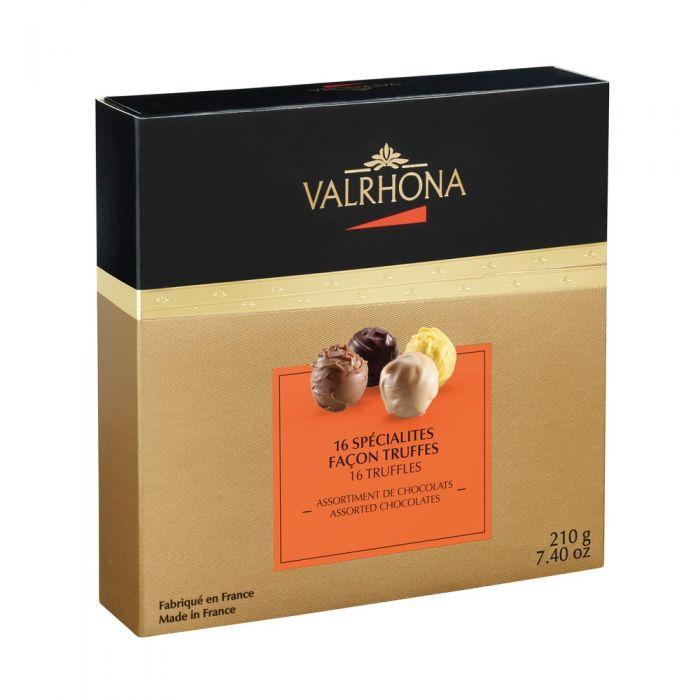 confezione di tartufi - collezione natale di valrhona