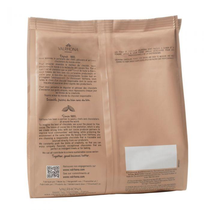 sacchetto 1kg equatoriale fondente 55% di valrhona