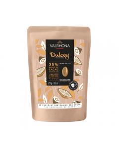 sacchetto 250g dulcey 35% di valrhona