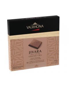 confezione 18 carré jivara 40% di valrhona