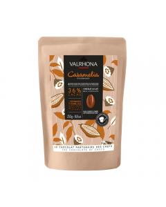 sacchetto 250g caramelia 36% di valrhona