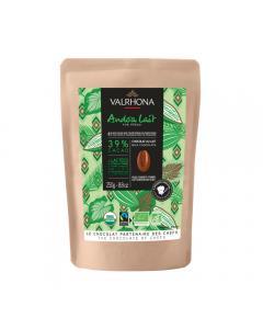 sacchetto 250g andoa latte 39% di valrhona