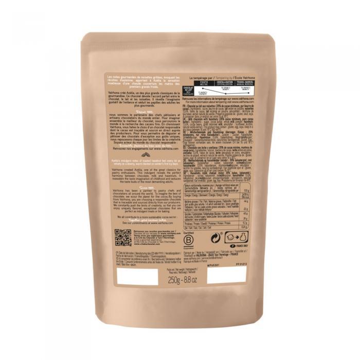 sacchetto 250g azelia 35% di valrhona