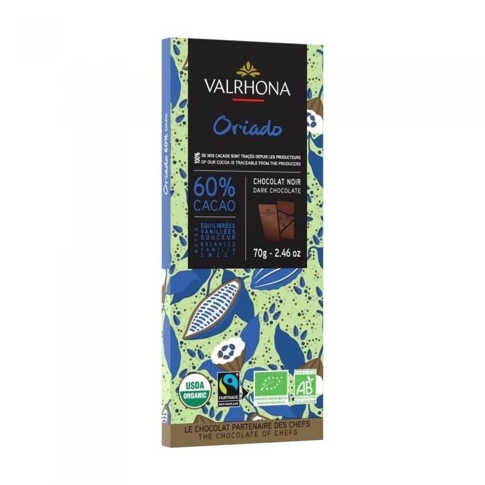 oriado barretta 60% - 70 g di valrhona