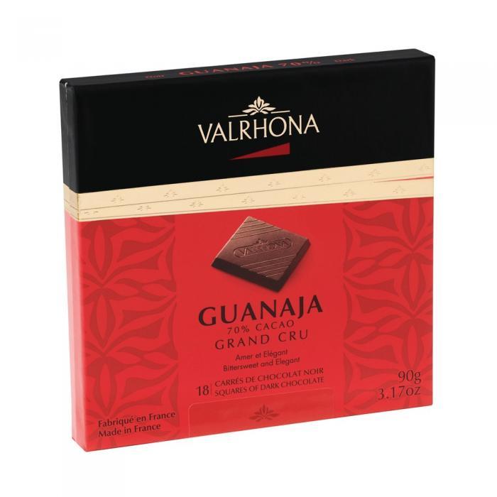 cofanetto 18 carré guanaja 70% di valrhona